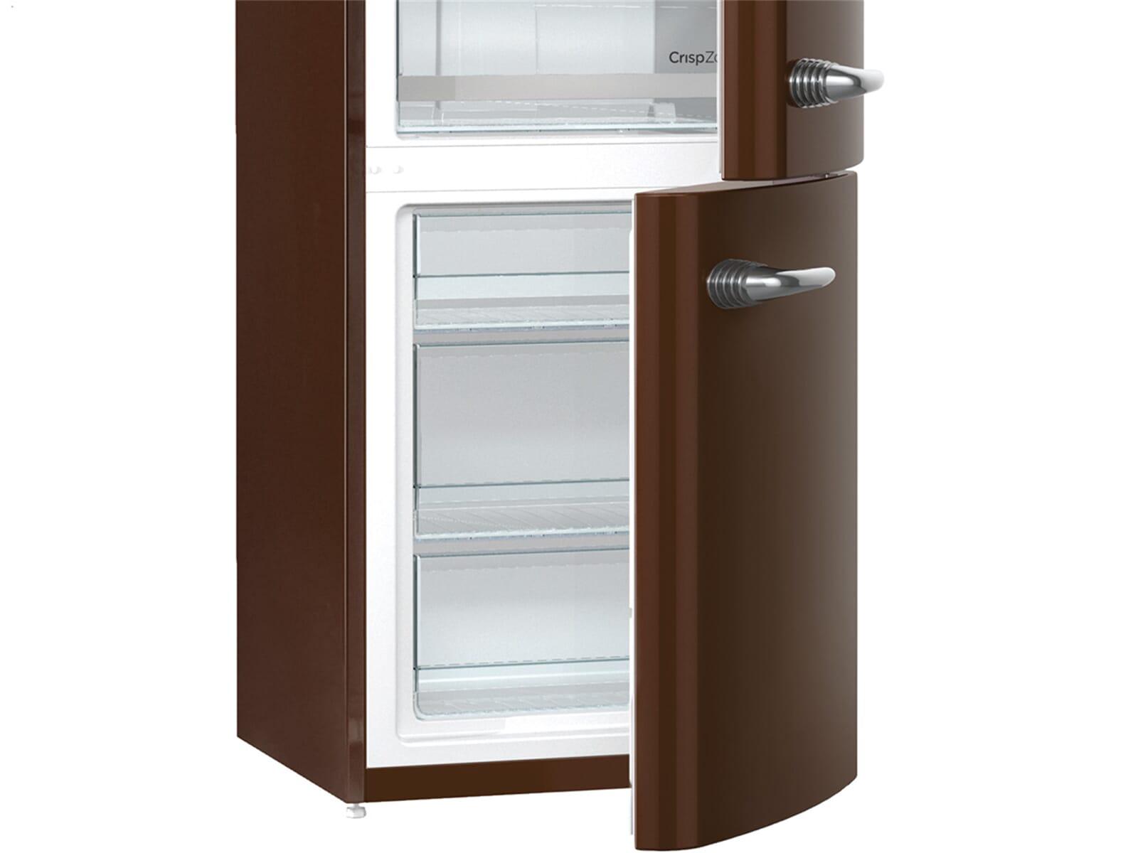 Smeg Kühlschrank Chocolate : Gorenje ork ch kühl gefrierkombination dark chocolate