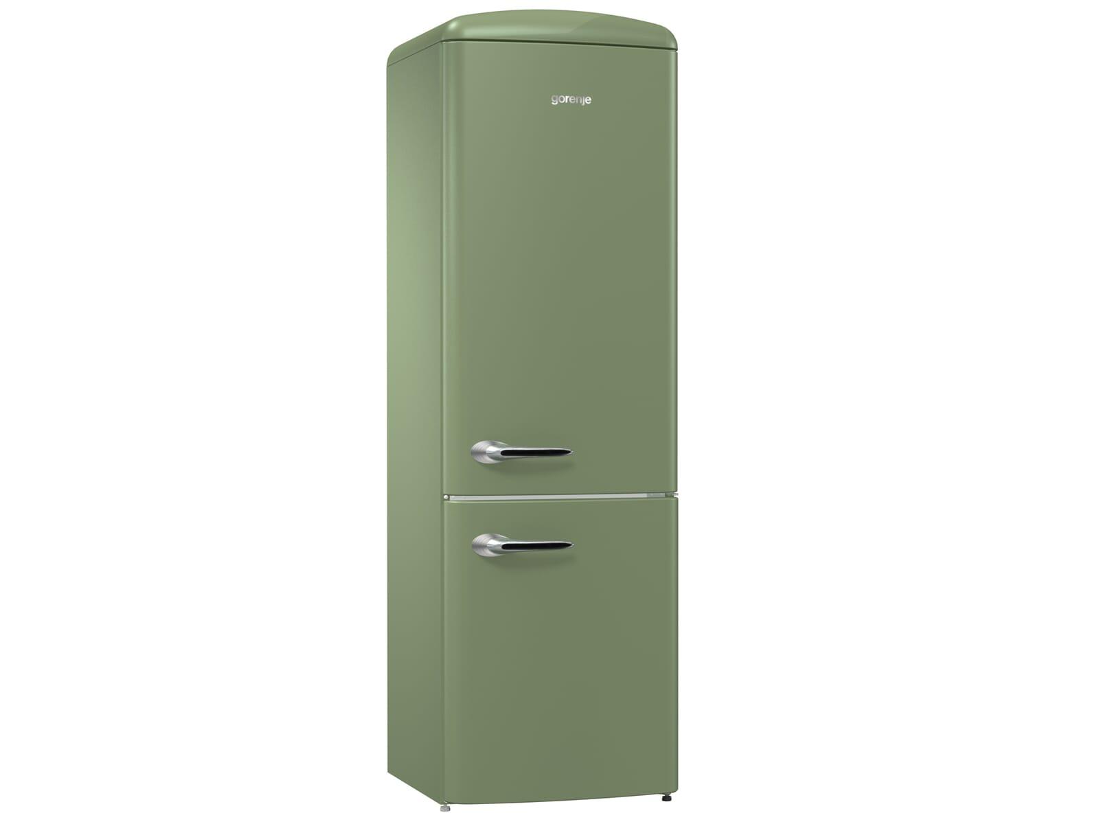 Gorenje Kühlschrank Ion Air : Gorenje ork ol kühl gefrierkombination olive
