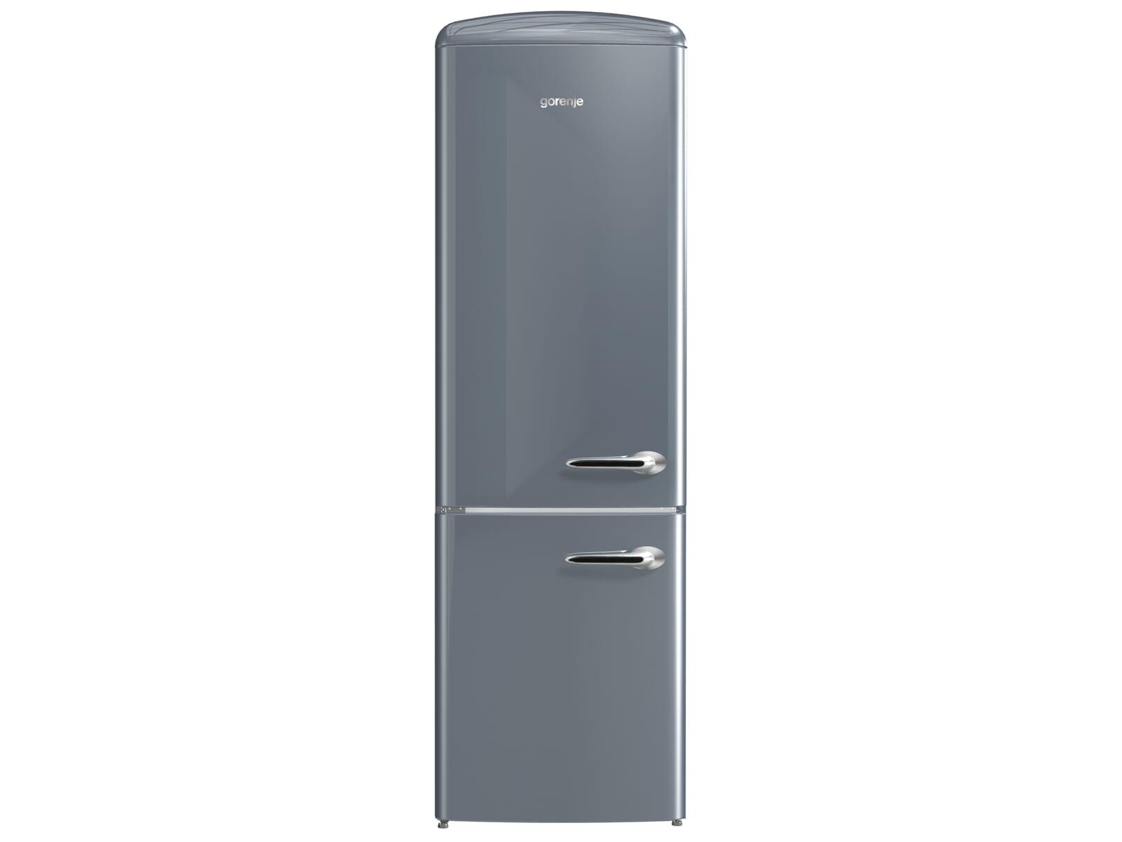 Gorenje Kühlschrank Ion Air : Gorenje ork l kühl gefrierkombination silver