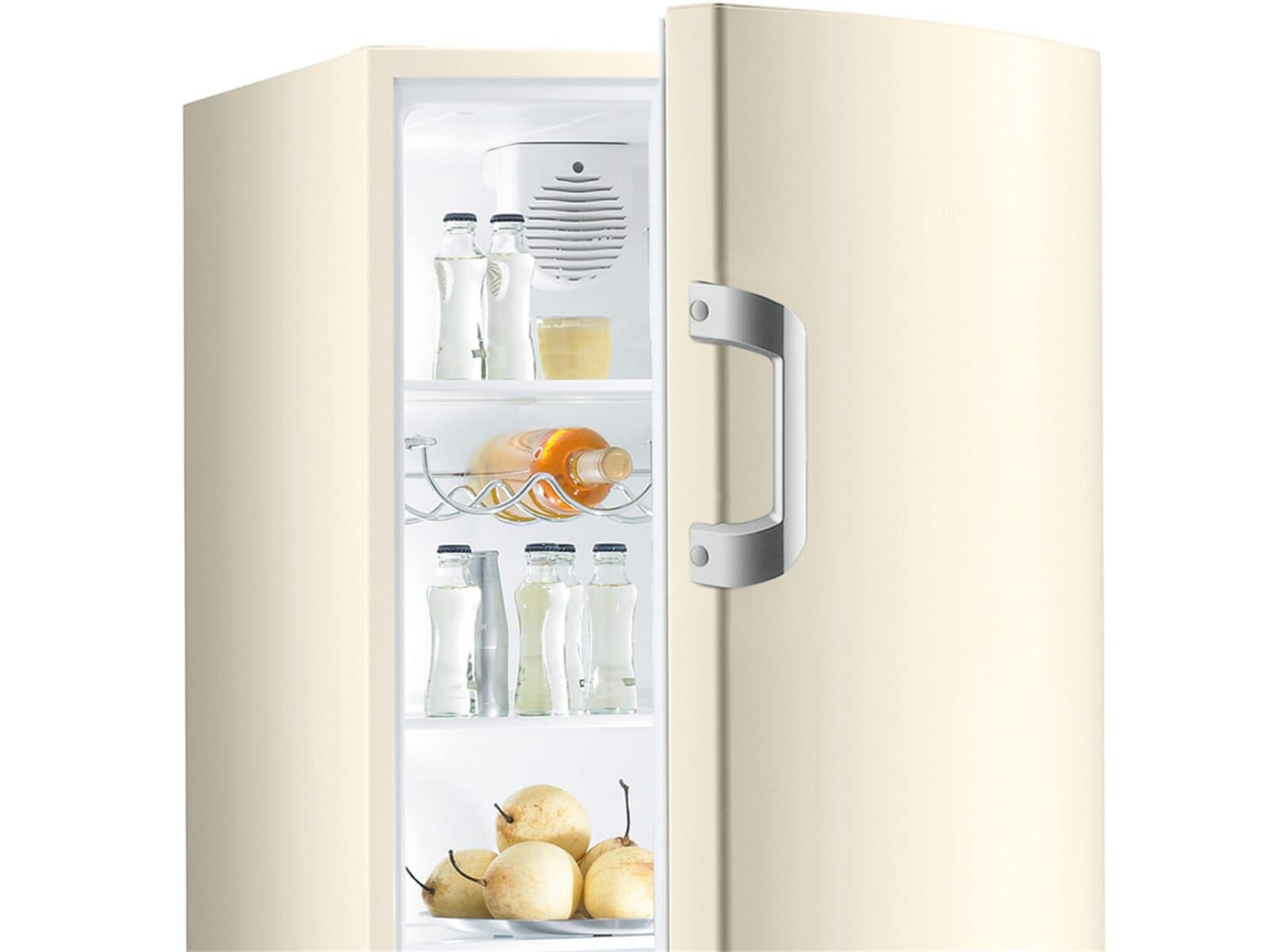 Kühlschrank Creme : Gorenje r bc standkühlschrank creme