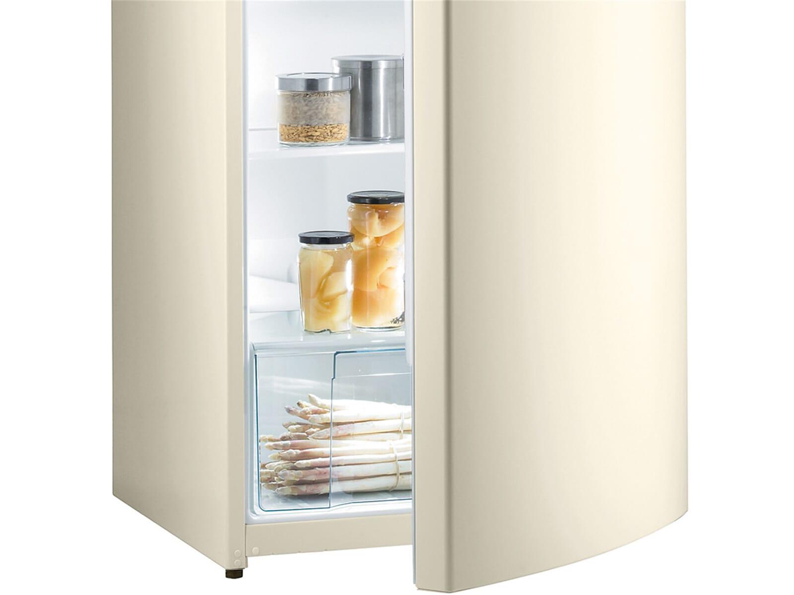 Gorenje Kühlschrank Beige : Gorenje r bc standkühlschrank creme