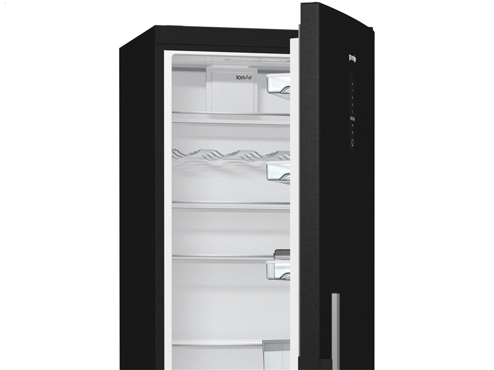 gorenje r 6193 lb standk hlschrank black. Black Bedroom Furniture Sets. Home Design Ideas