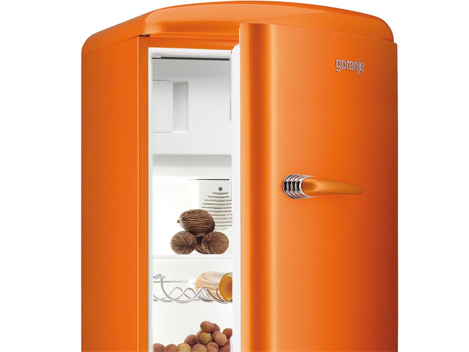 Bosch Kühlschrank Orange : Gorenje rb 60299 oo standkühlschrank orange