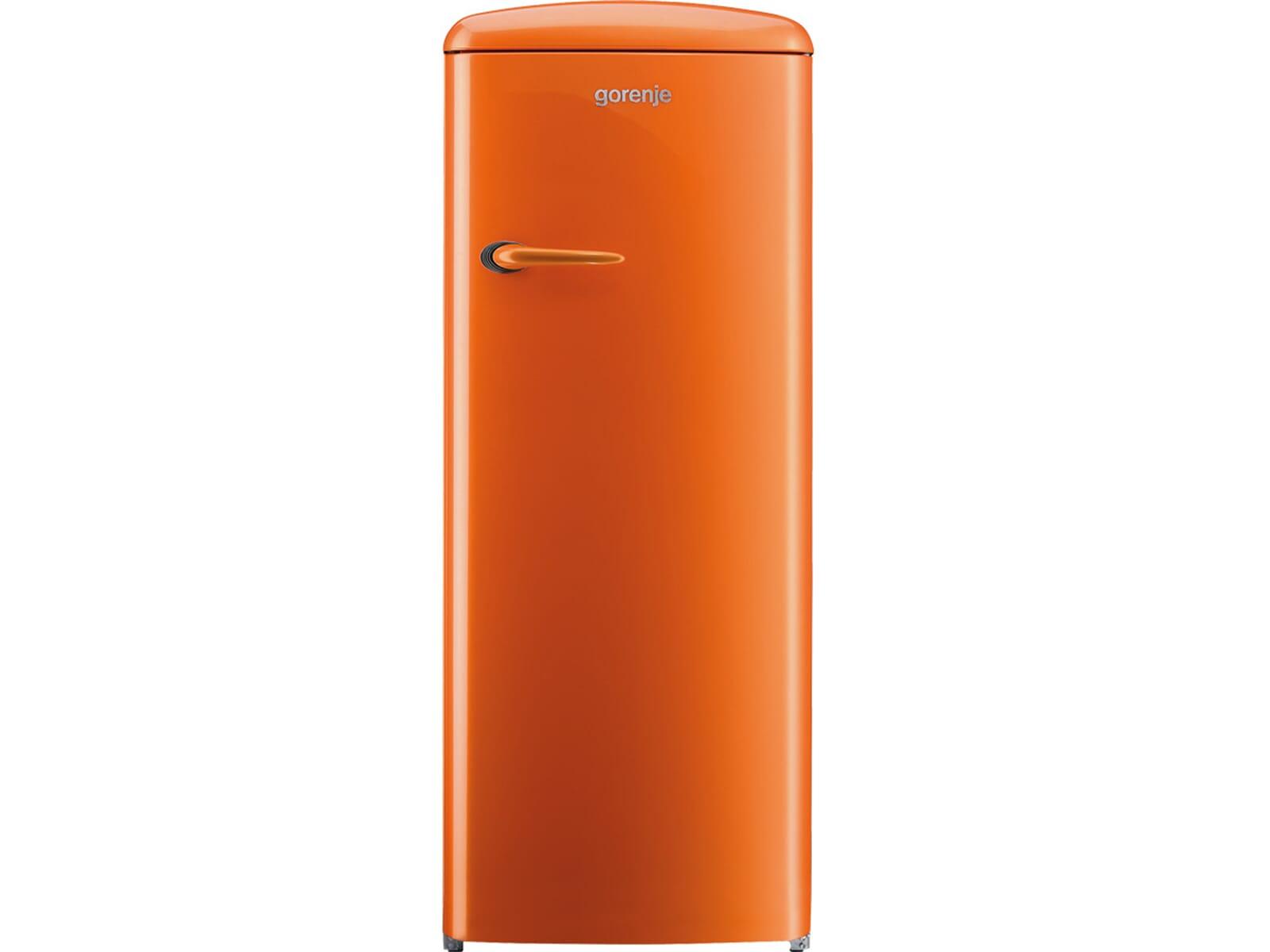 Gorenje Retro Kühlschrank Orange : Gorenje retro kühlschrank orange gorenje rb och l