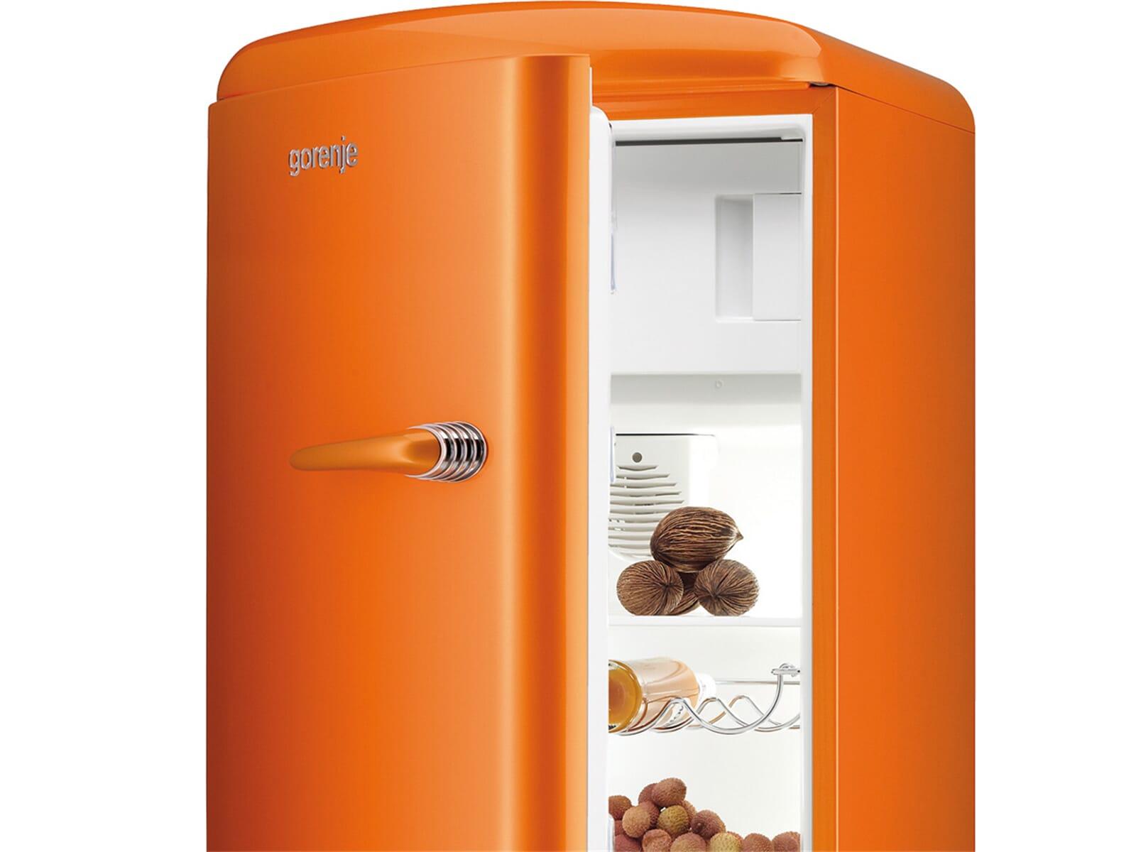 Gorenje RB 60299 OO-L Standkühlschrank Orange