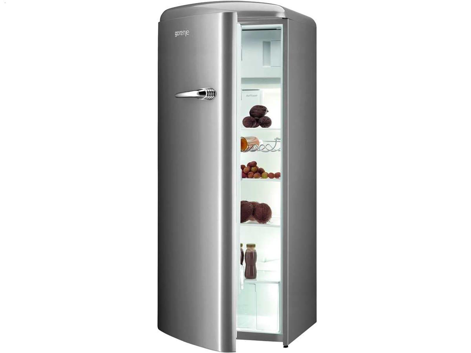 Gorenje Kühlschrank Ist Laut : Gorenje rb ox l standkühlschrank inox b ware
