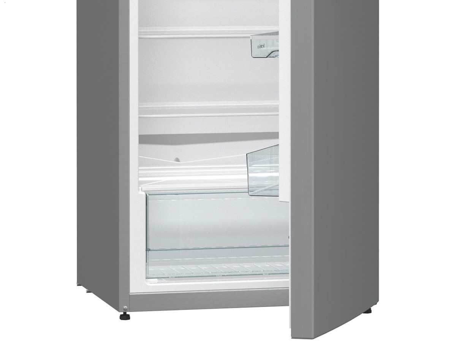 Side By Side Kühlschrank Dunkelgrau : Gorenje rb 6153 bx standkühlschrank grau metallic