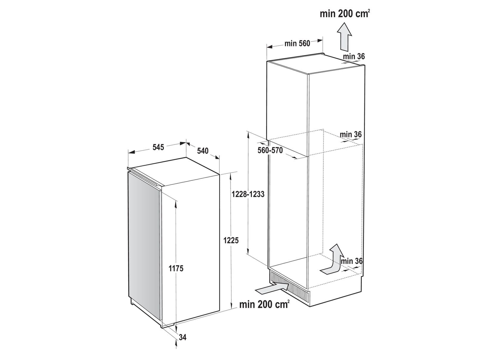 Gorenje RI 2122 E1 Einbaukühlschrank