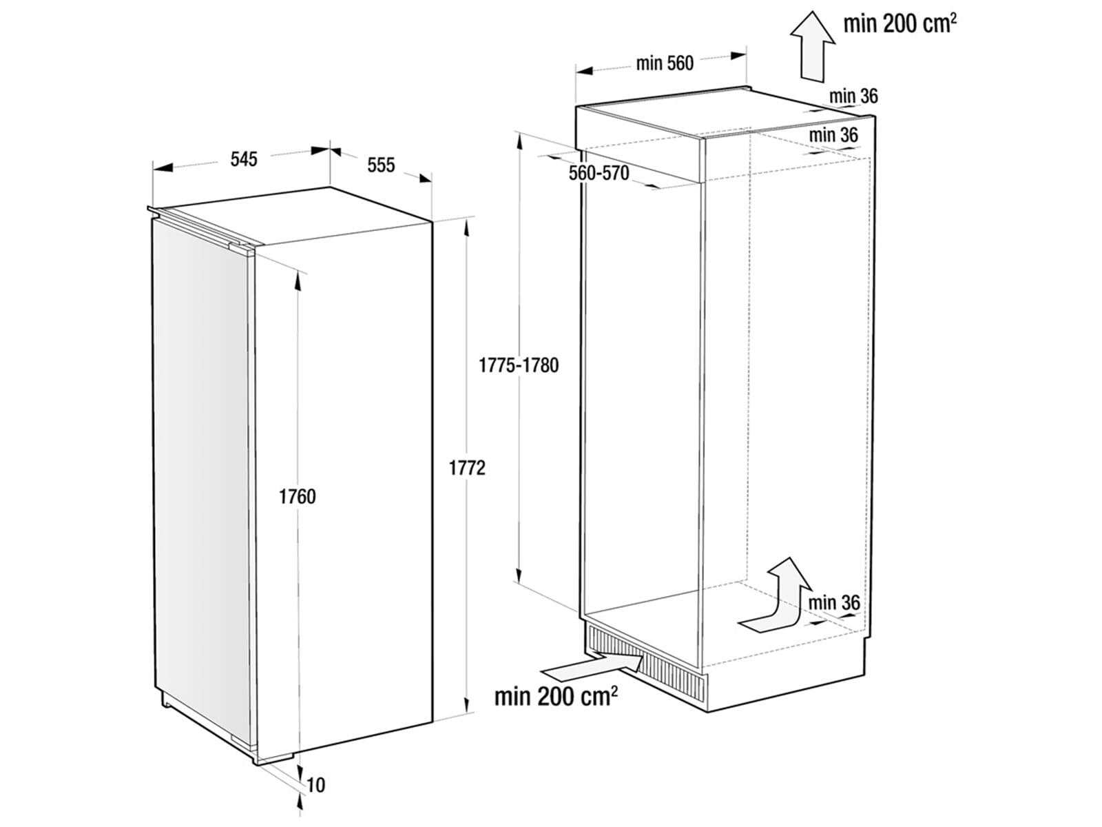 Gorenje RI 5182 A1 Einbaukühlschrank