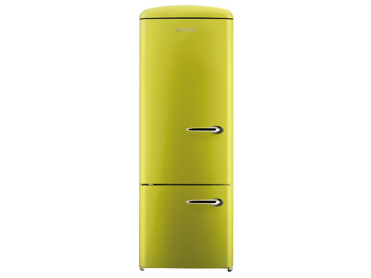Gorenje RK 60319 OAP-L Kühl-Gefrierkombination Apple
