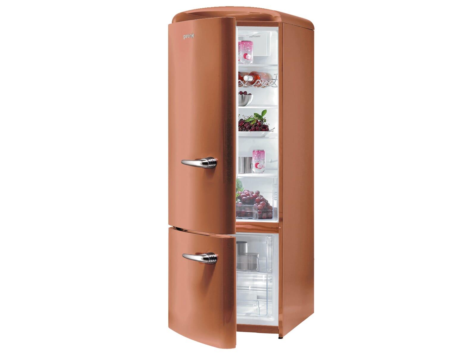 gorenje rk 60319 ocr l k hl gefrierkombination copper braun retro standger t ebay. Black Bedroom Furniture Sets. Home Design Ideas