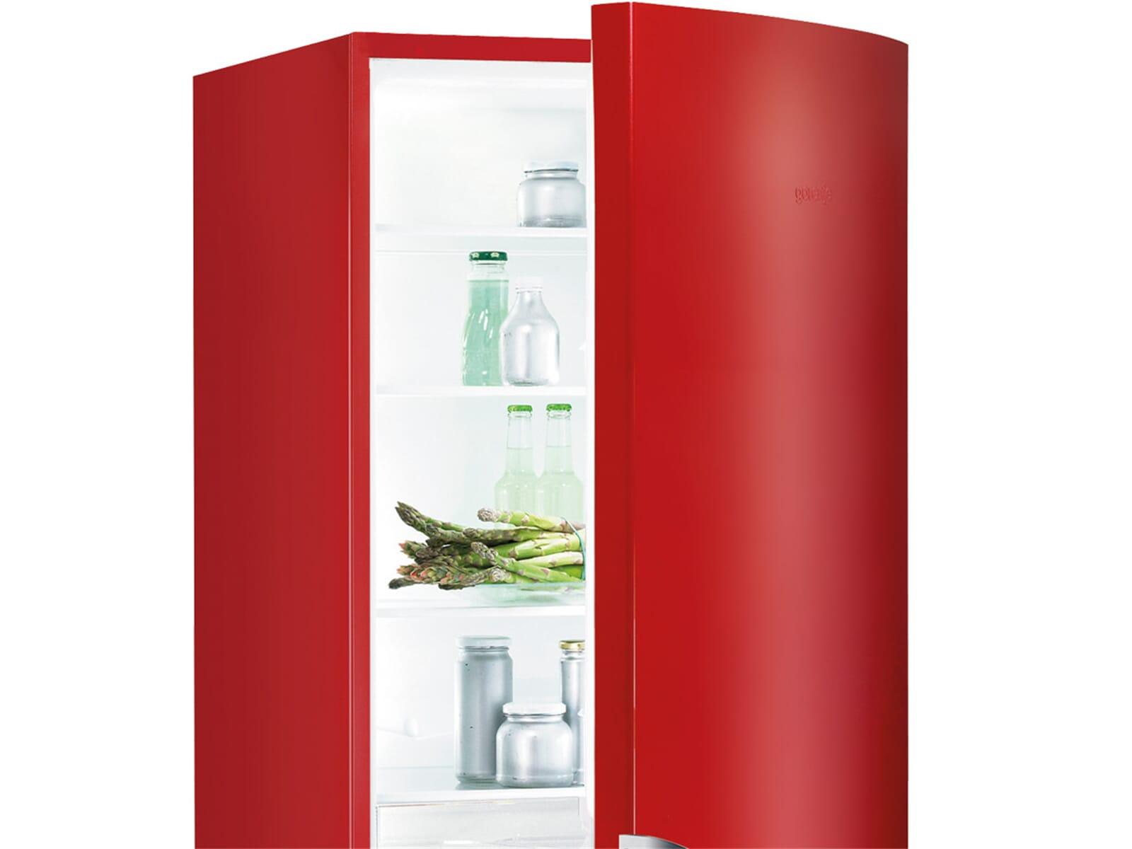 Gorenje Kühlschrank Rk 61620 X : Gorenje rk rd kühl gefrierkombination rot