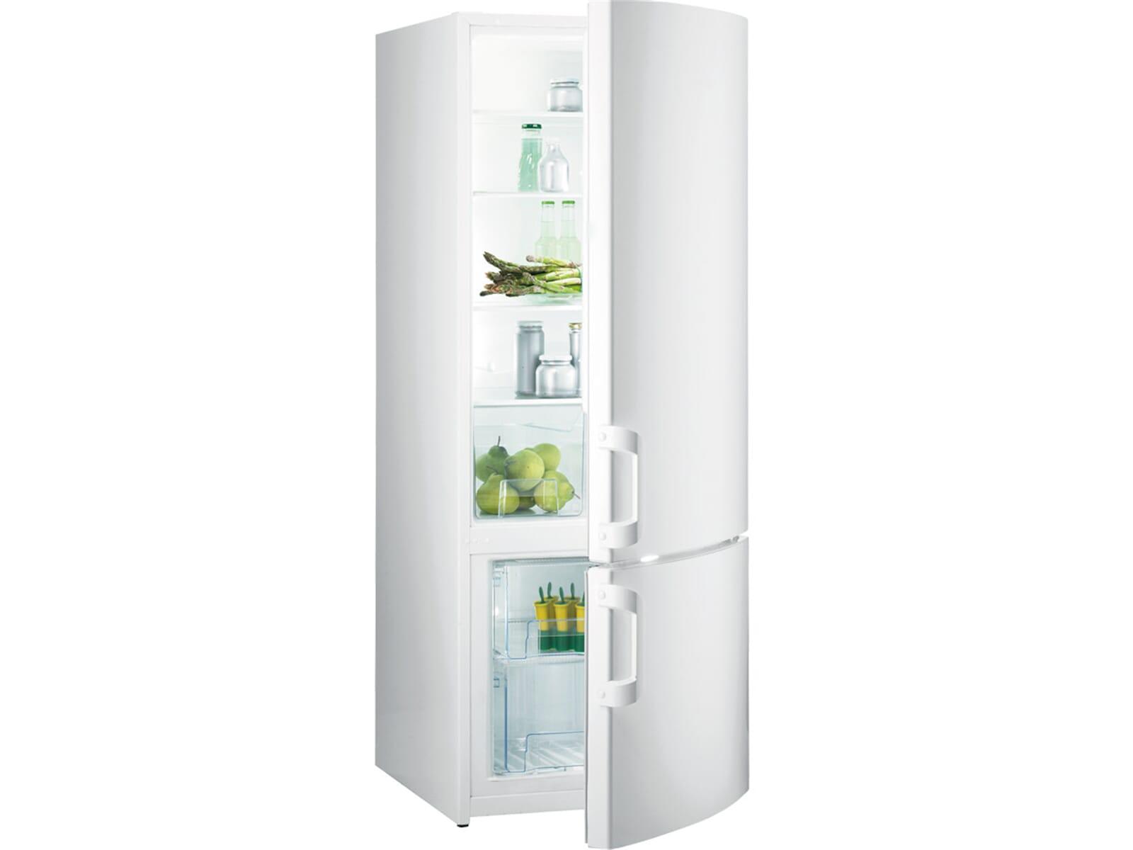 Gorenje Kühlschrank Weiß : Gorenje rk w kühl gefrierkombination weiß