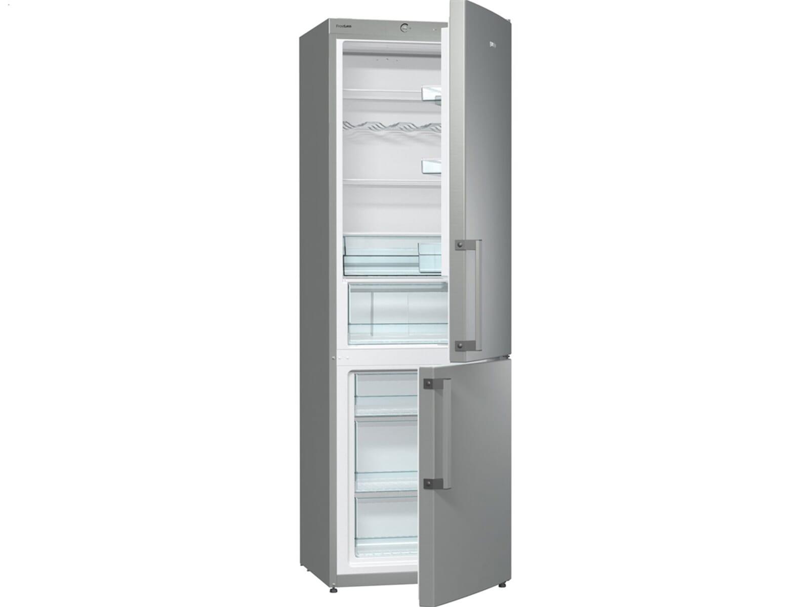 Gorenje Kühlschrank Retro Abtauen : Gorenje rk ex kühl gefrierkombination edelstahl