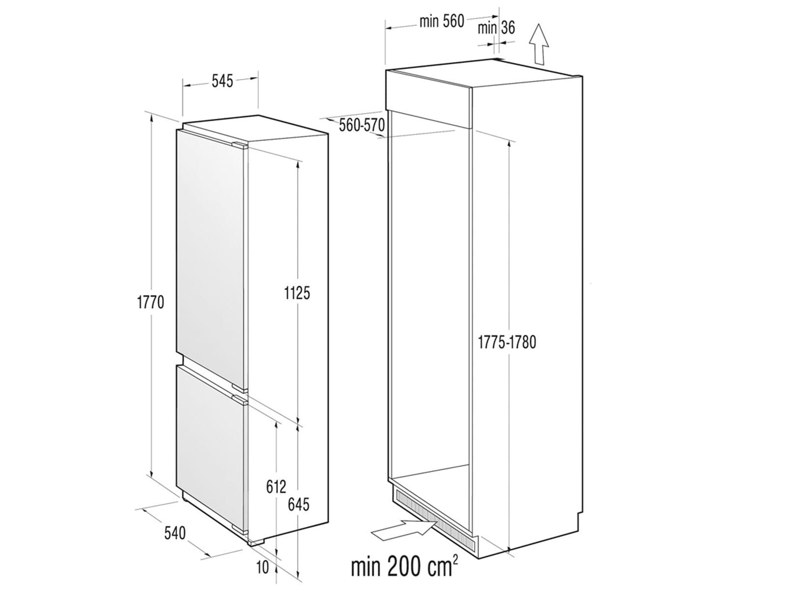 gorenje rki 5181 aw einbau k hl gefrierkombination. Black Bedroom Furniture Sets. Home Design Ideas