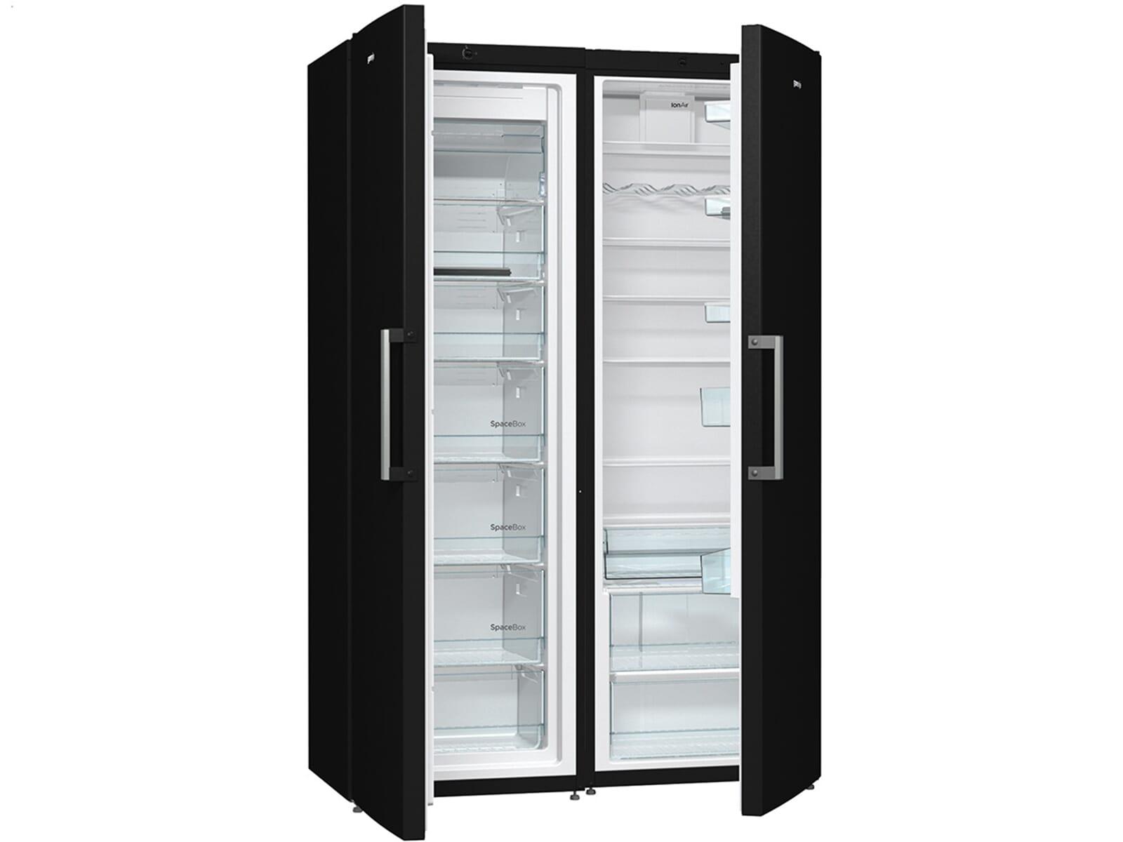 Gorenje Kühlschrank Friert : Gorenje sbs cfbk side by side kühl gefrier kombination black