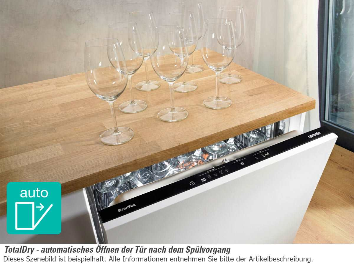gorenje gi 66160 s teilintegrierbarer einbaugeschirrsp ler. Black Bedroom Furniture Sets. Home Design Ideas