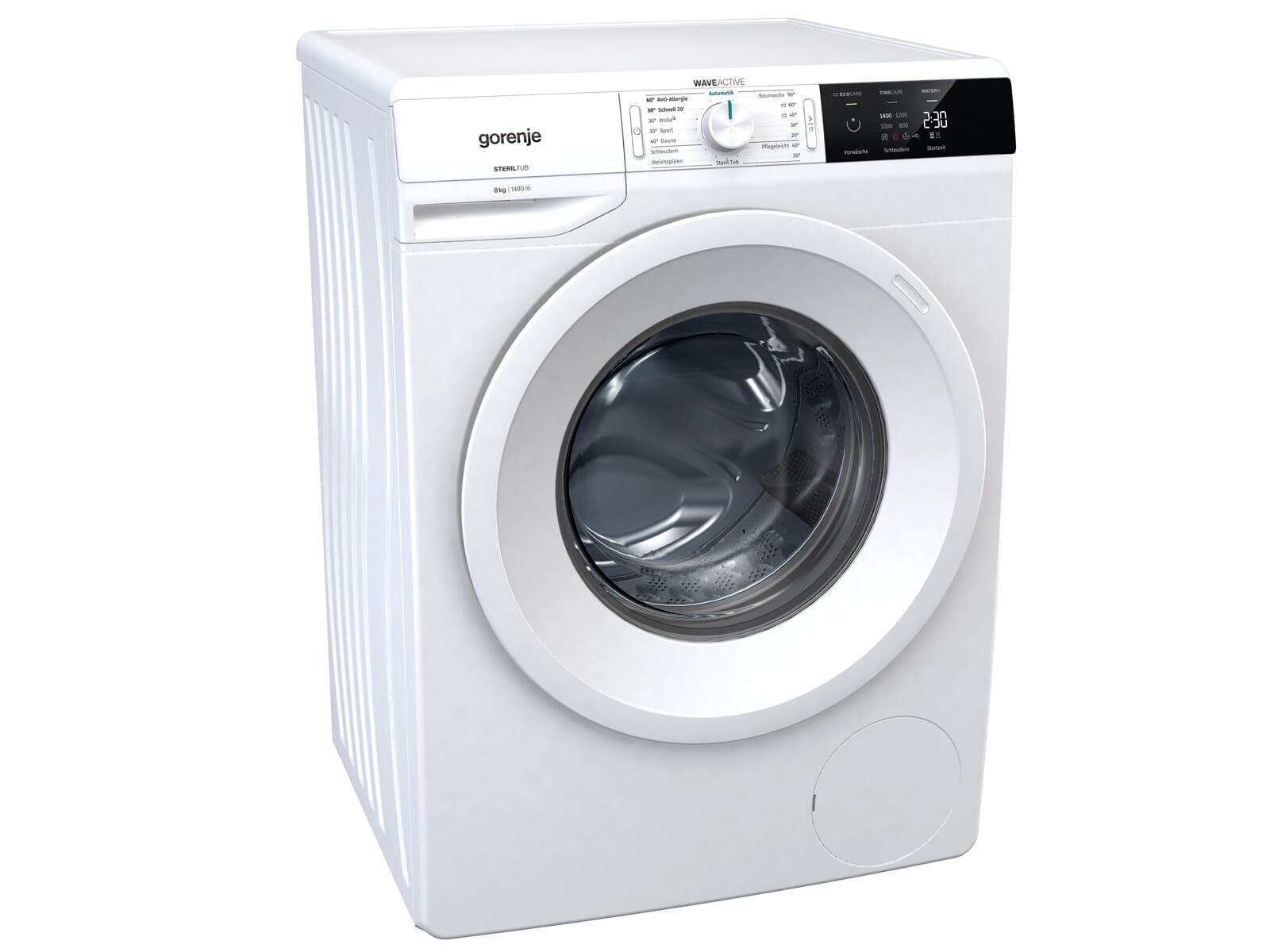Gorenje W4E843P Waschmaschine Weiß