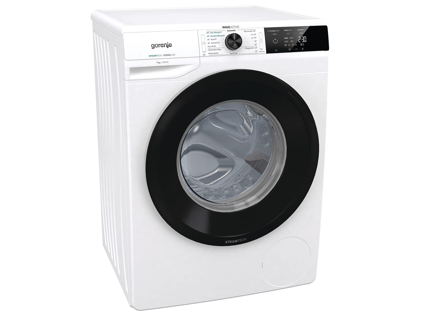 Gorenje WE74CPS Waschmaschine Weiß