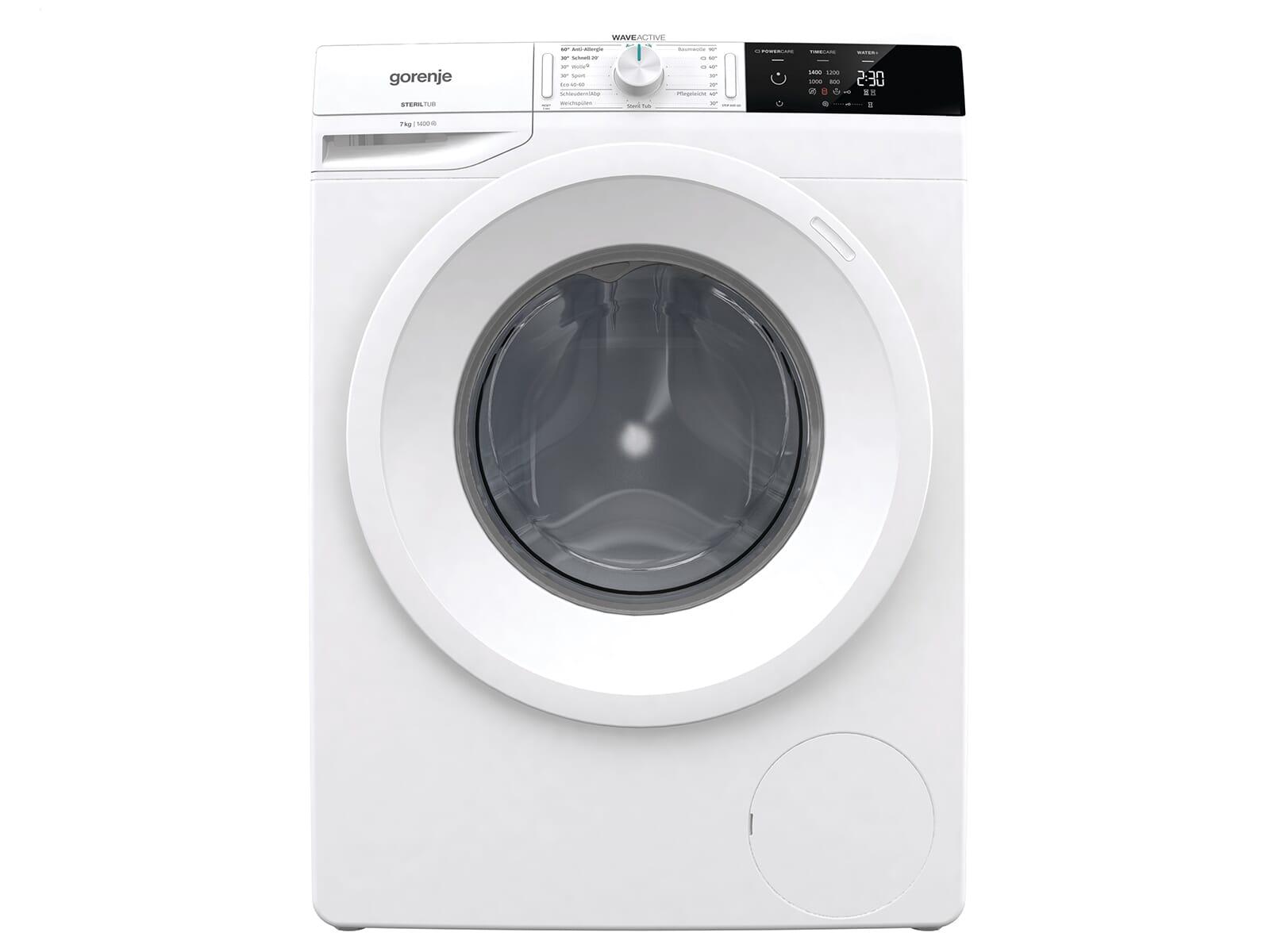 Gorenje WE74S3P Waschmaschine Weiß