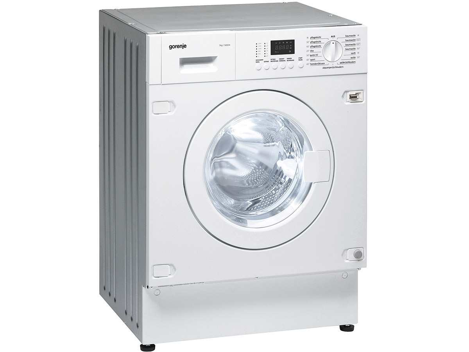 gorenje wi 74147 de einbauwaschmaschine. Black Bedroom Furniture Sets. Home Design Ideas