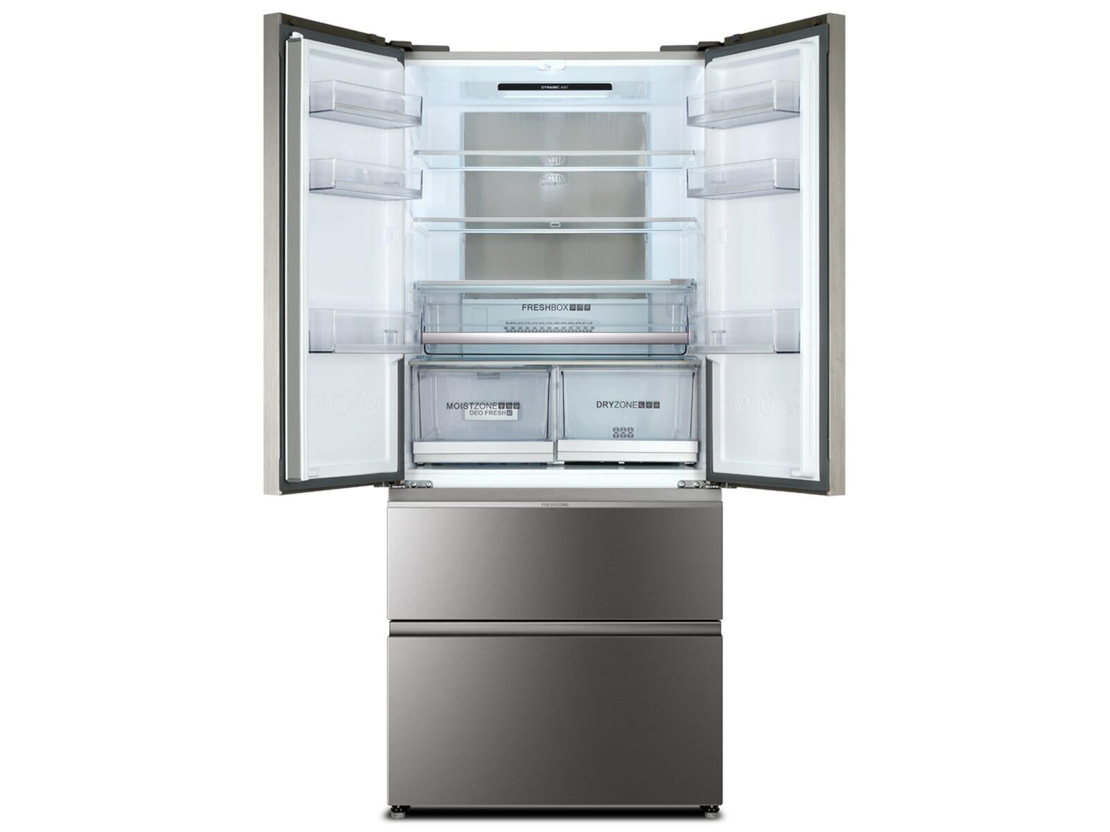 Aeg Kühlschrank French Door : Haier hb18fgsaaa french door kühl gefrier kombination edelstahl glas