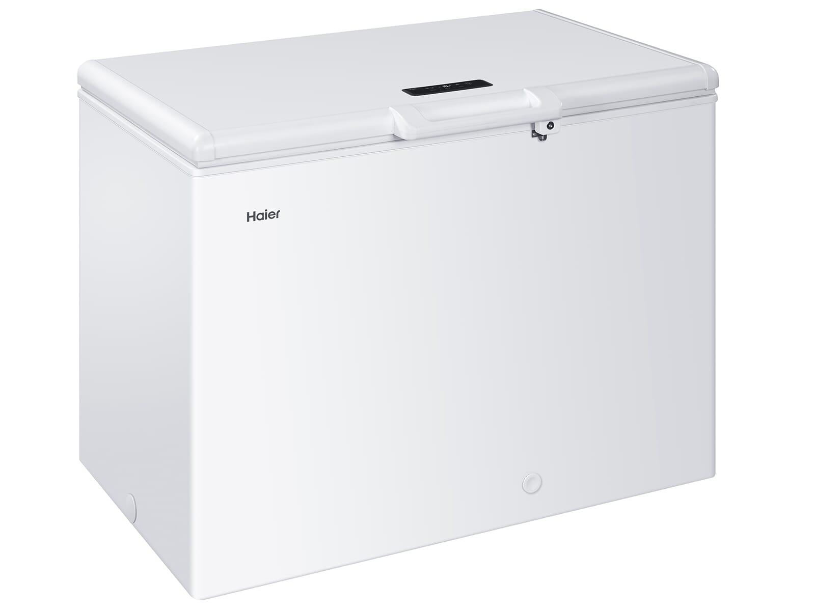 Haier HCE221T Gefriertruhe Weiß