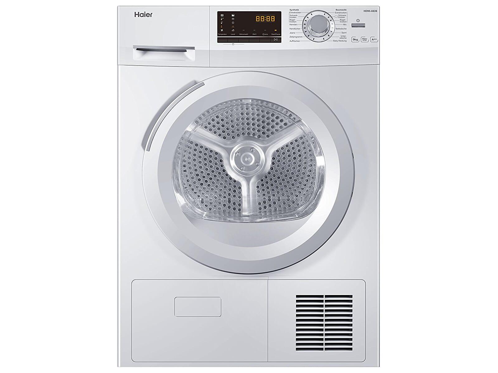 Haier HD90-A636 Trockner Weiß