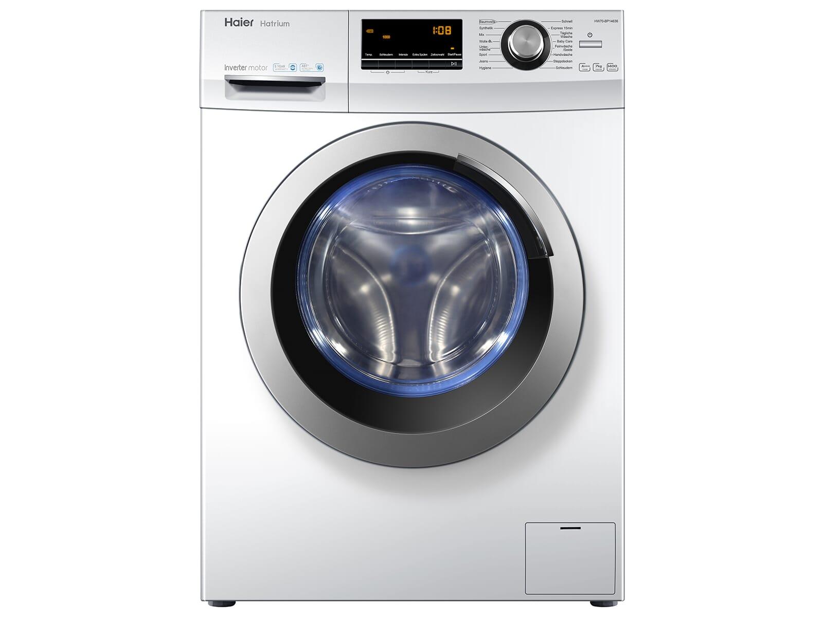 Haier HW70-BP14636 Waschmaschine Weiß