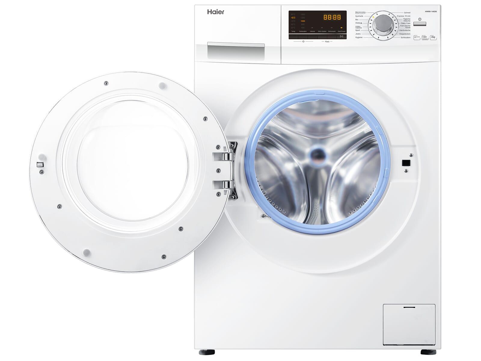 Haier HW80-14636 Waschmaschine Weiß