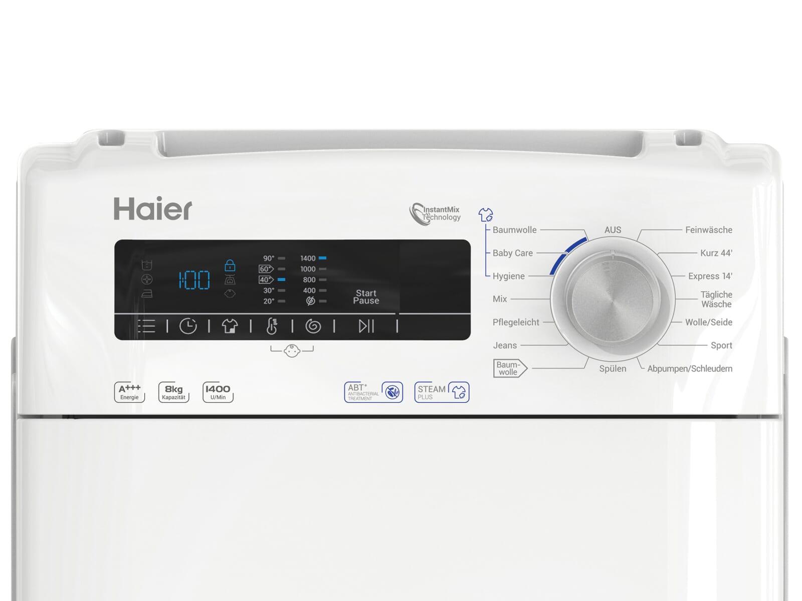 Haier RTXSGQ384TM/1-84 Waschmaschine Weiß