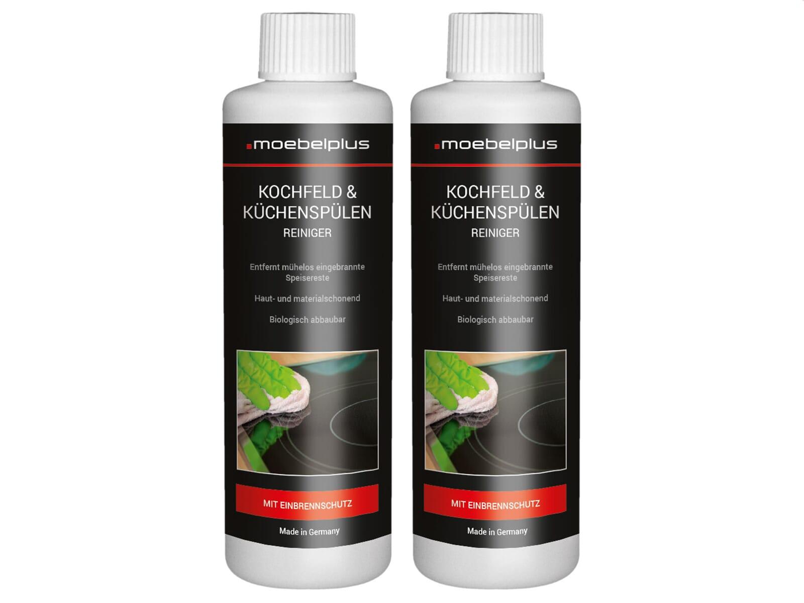 moebelplus Kochfeld & Küchenspülen Reiniger - 2er Set
