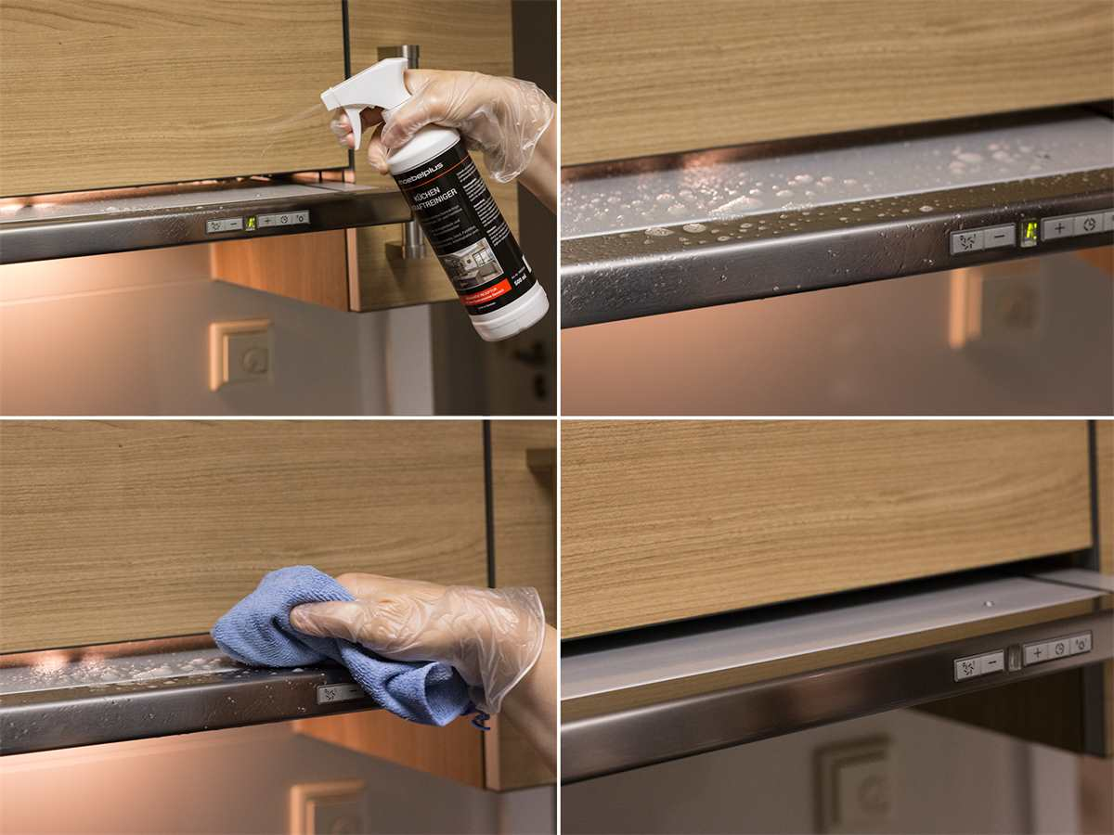 moebelplus Küchen Kraftreiniger - 3er Set