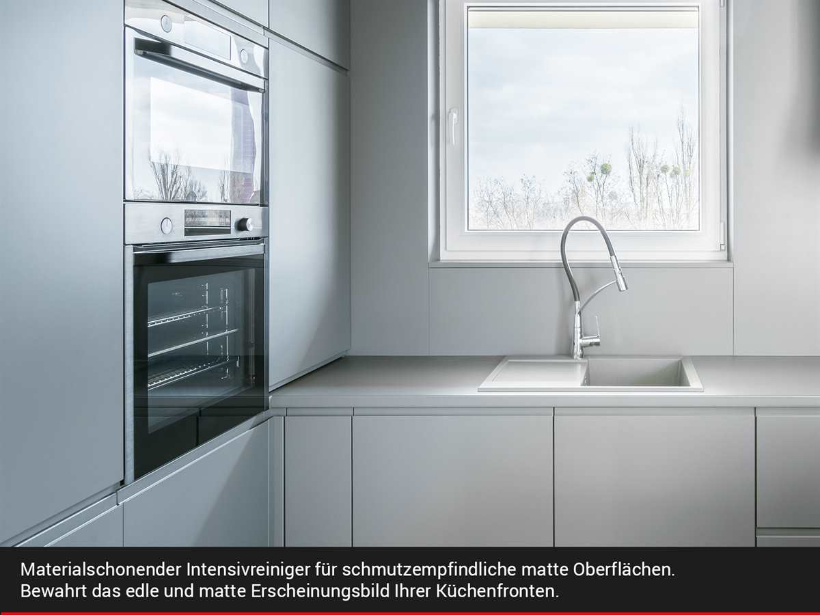 moebelplus Küchenfronten-Reiniger Matt - 2er Set