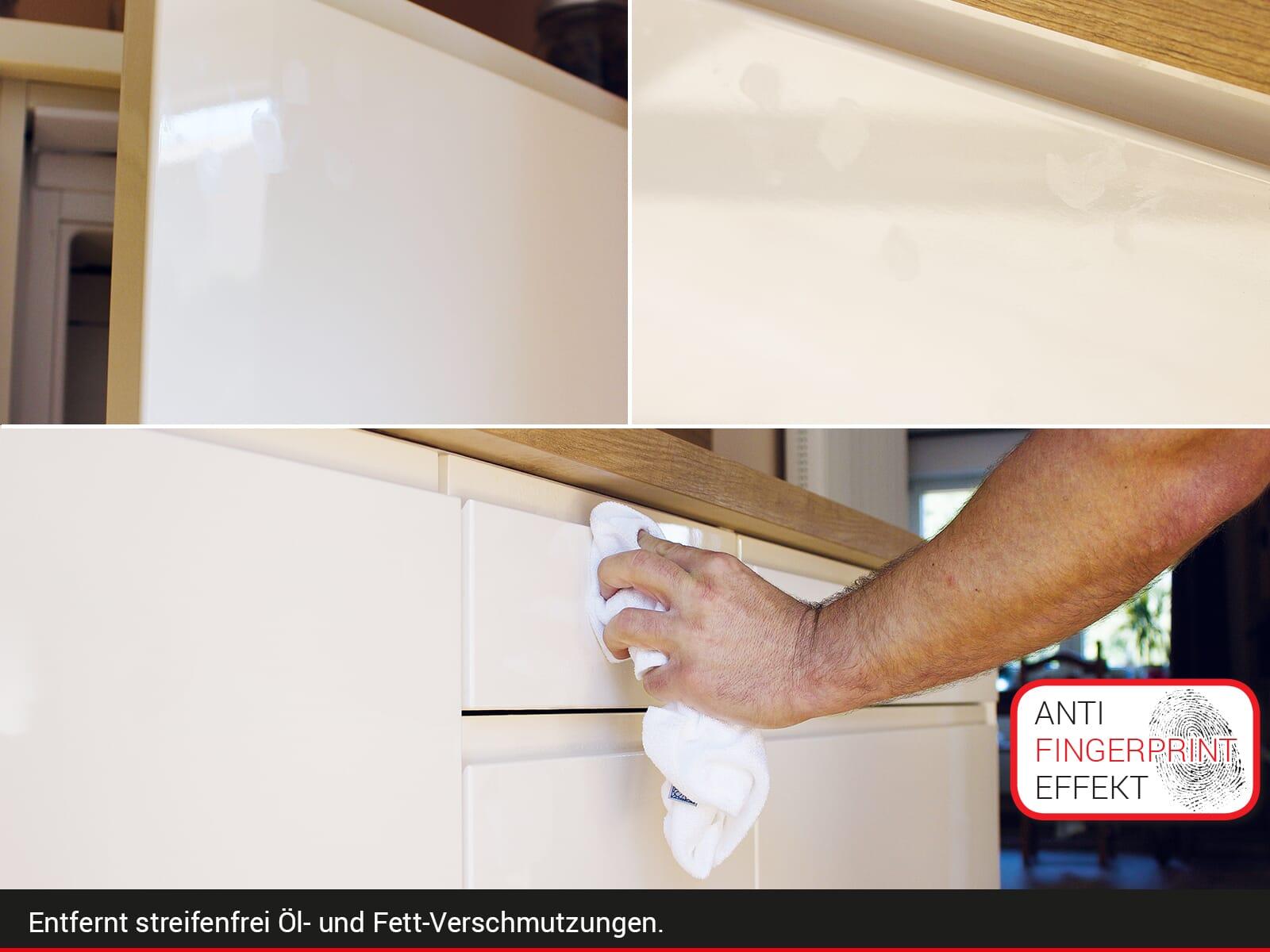 moebelplus Küchenfronten-Reiniger Hochglanz - 4er Set