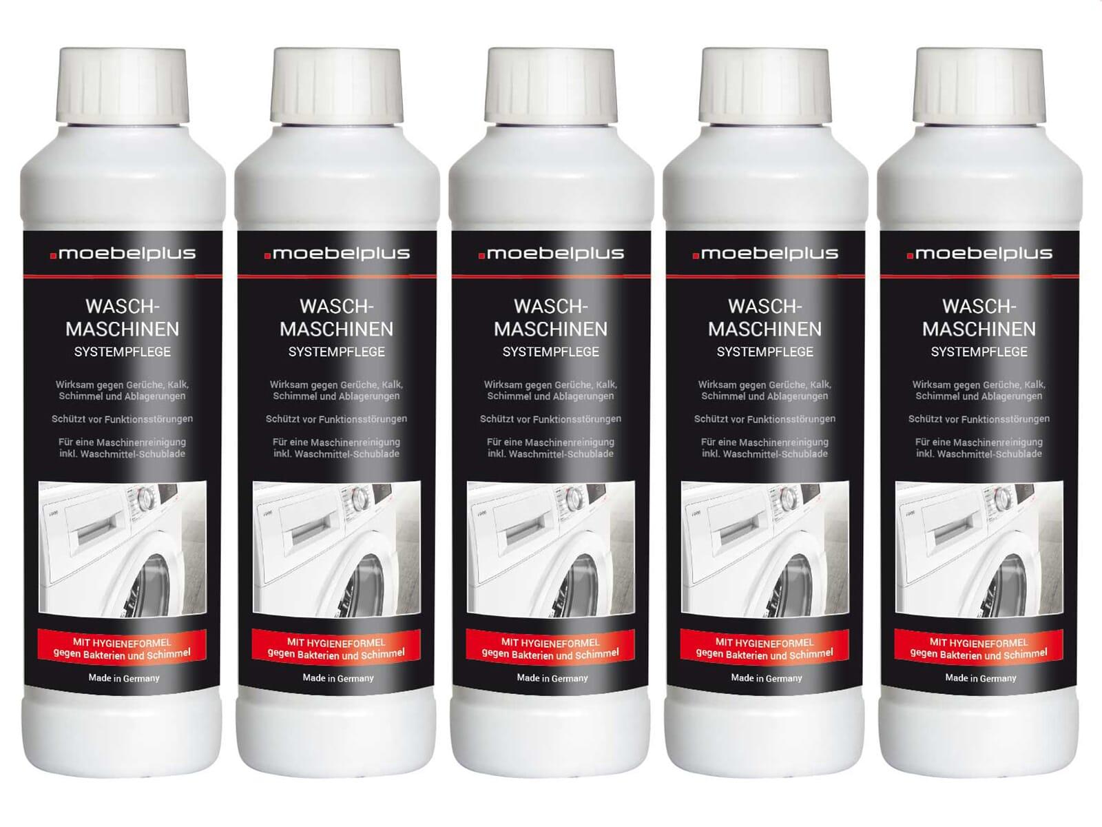 moebelplus Waschmaschinen Systempflege - 5er Set