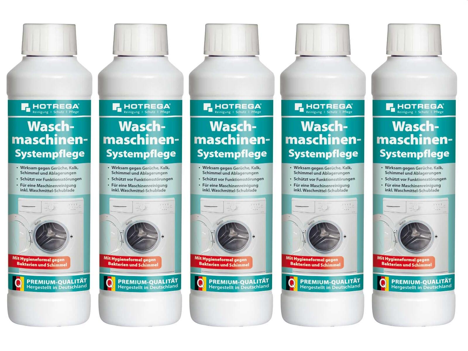 Hotrega H110290 Waschmaschinen-Systempflege - 5er Set