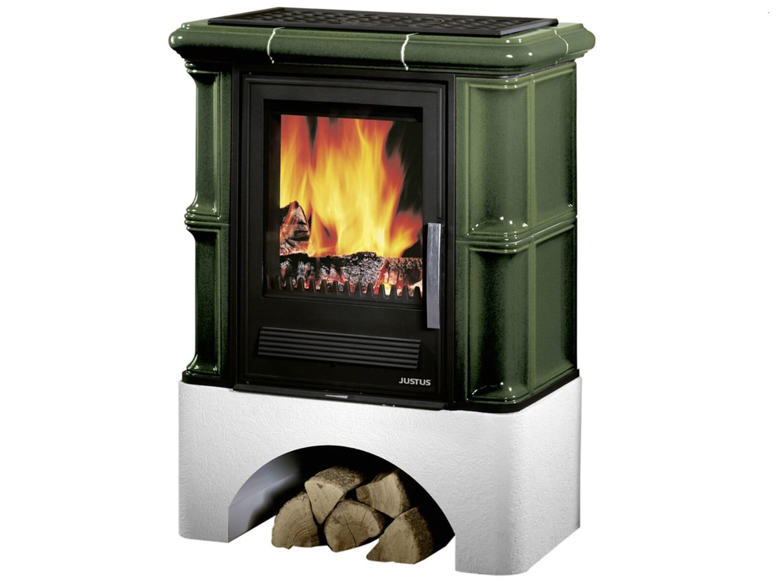 justus bavaria 634752 kaminofen kachel gr n 4250340904469 ebay. Black Bedroom Furniture Sets. Home Design Ideas
