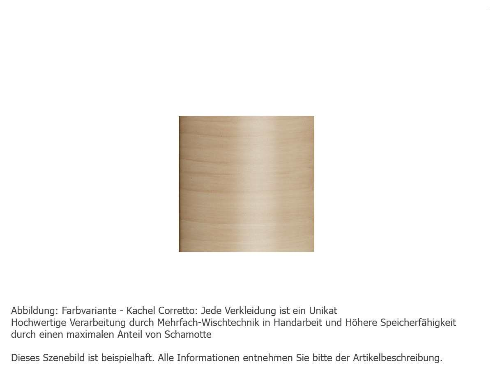 Justus Island 5 – 4875 70 Kaminofen Keramik Corretto Korpus Stahl Schwarz