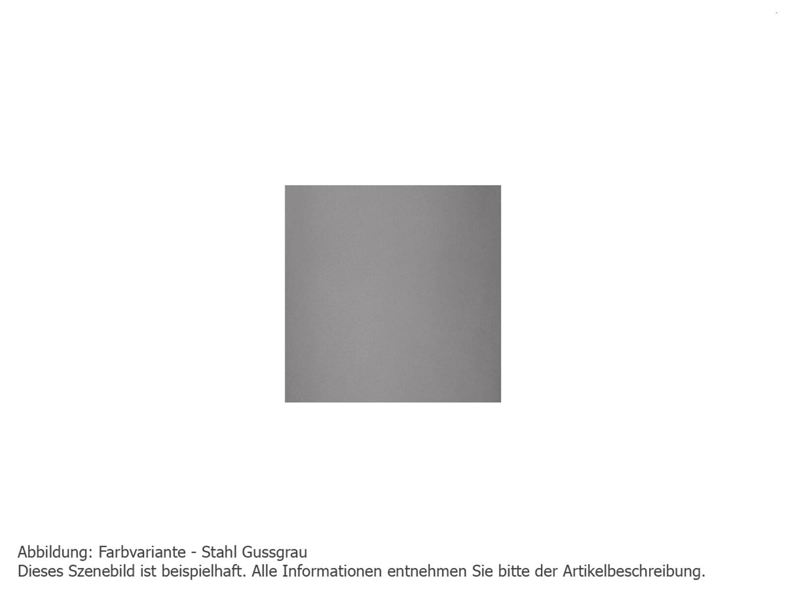 Justus Faro 4686 29 Kaminofen Stahl Gussgrau Abdeckplatte Speckstein
