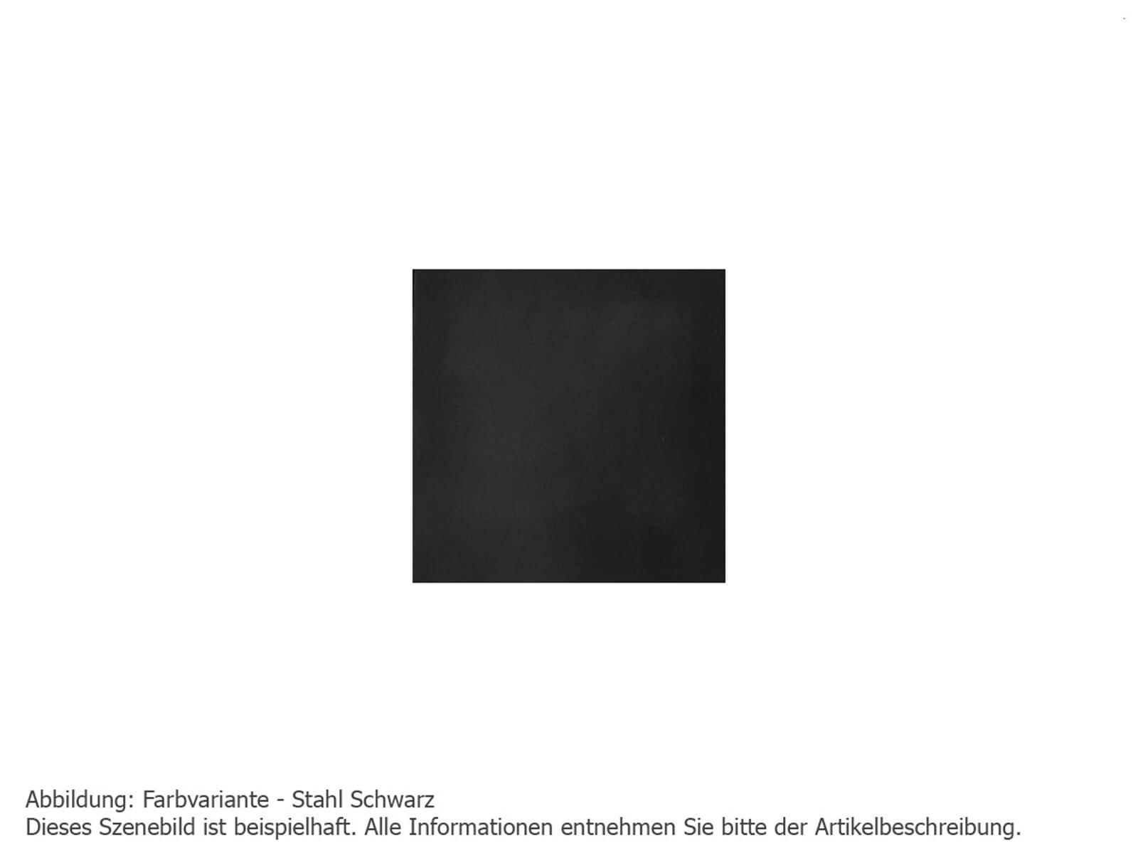 Justus Faro 4686 11 Kaminofen Stahl Schwarz mit Abdeckplatte Stahl Schwarz