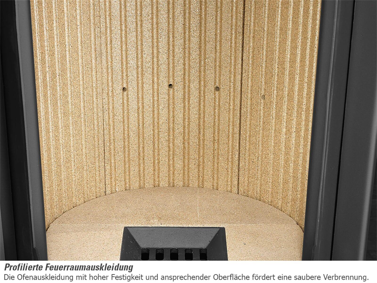 justus faro plus 4693 11 kaminofen stahl schwarz abdeckplatte. Black Bedroom Furniture Sets. Home Design Ideas