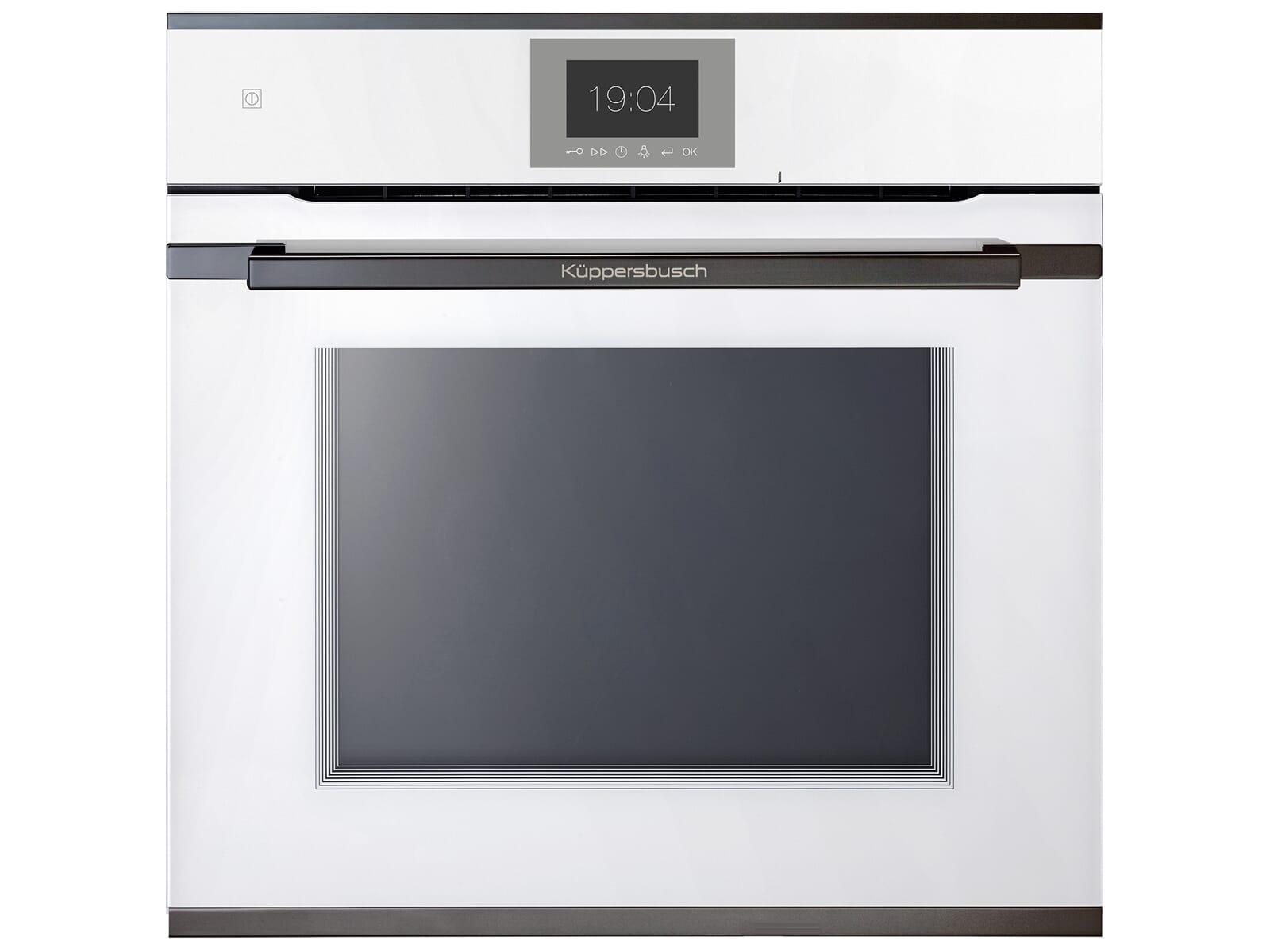 Küppersbusch BP 6550.0 W2 Premium+ Pyrolyse Backofen Weiß/Black Chrome