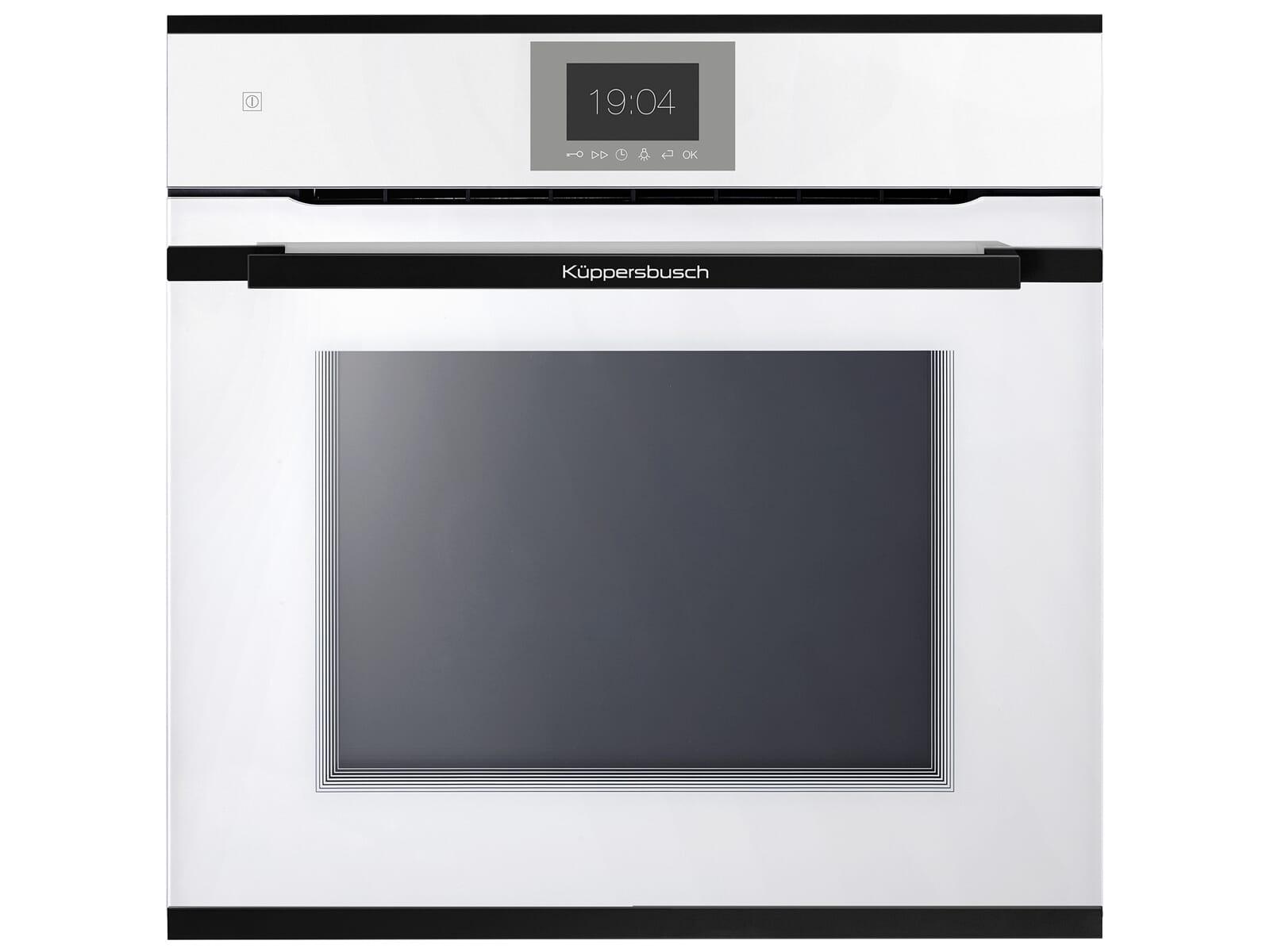 Küppersbusch BP 6550.0 W5 Premium+ Pyrolyse Backofen Weiß/Black Velvet