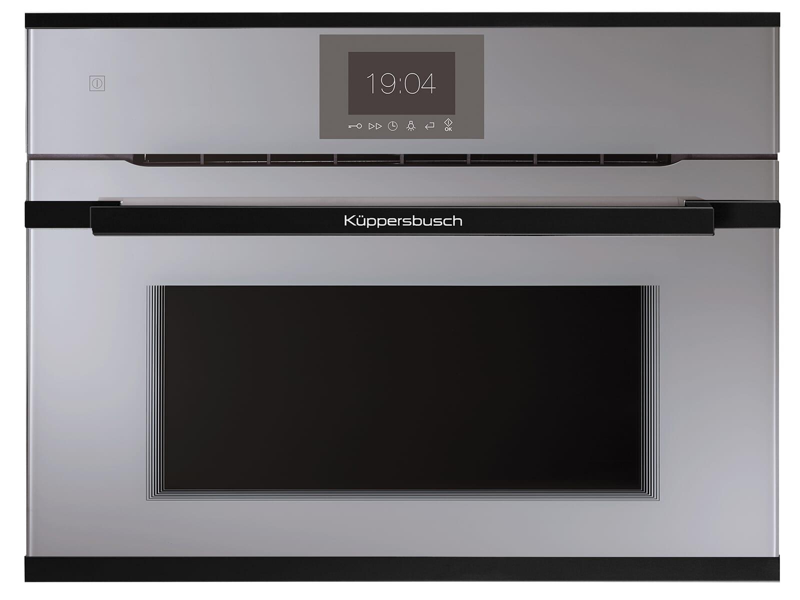 Küppersbusch CBM 6550.0 G5 K-Series. 5 Compact Backofen mit Mikrowelle Grau/Black Velvet