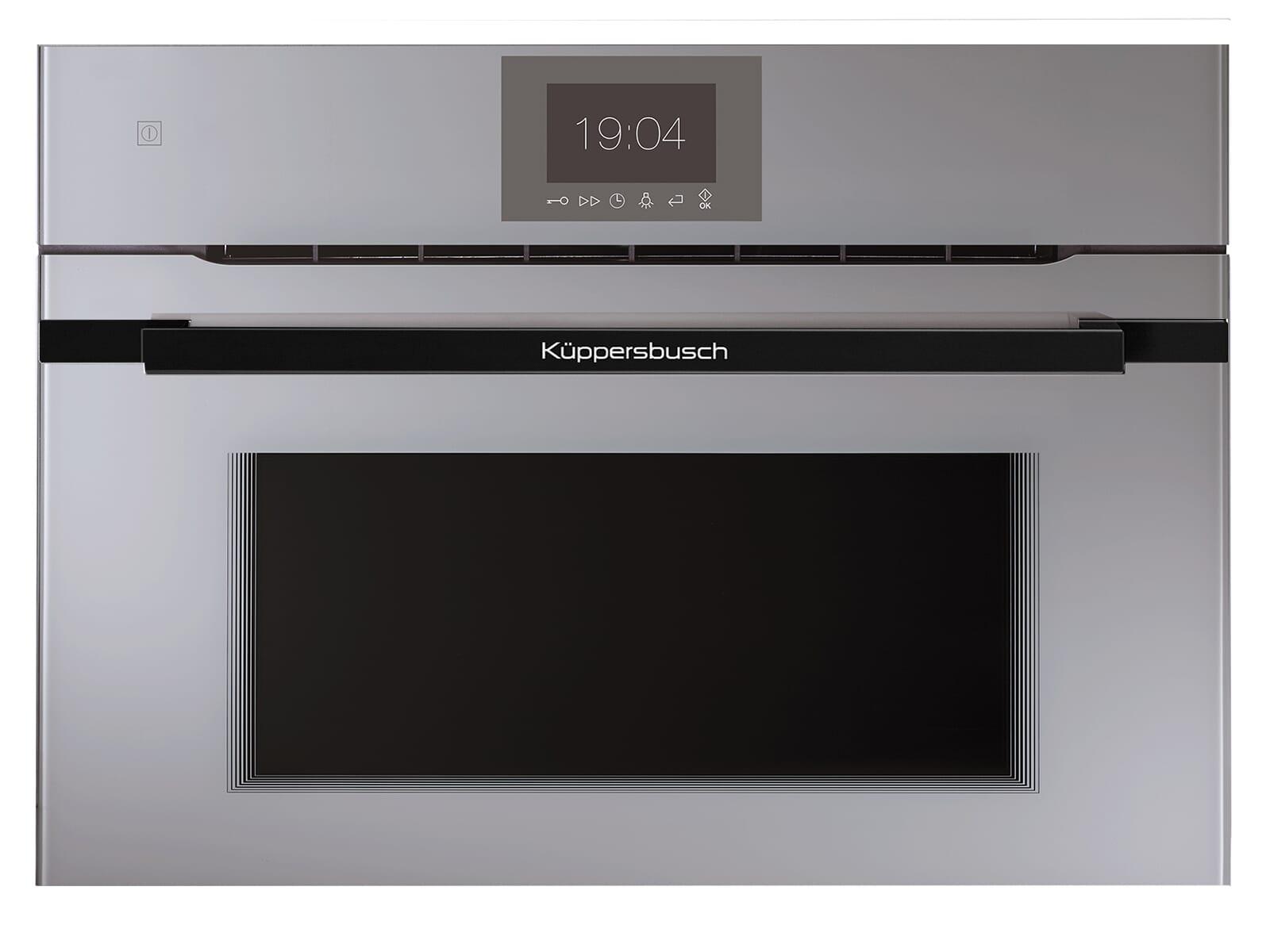 Küppersbusch CBM 6550.0 GE5 K-Series. 5 Compact Backofen mit Mikrowelle Grau/Black Velvet