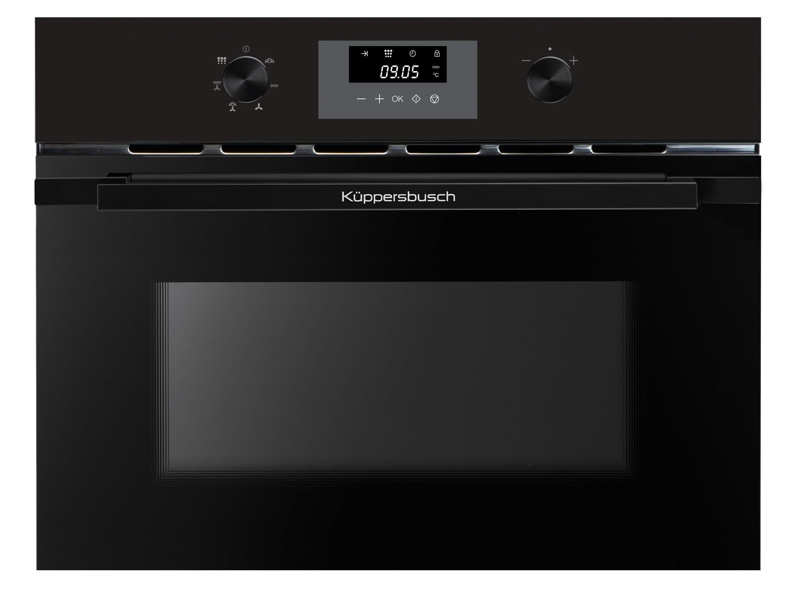 Küppersbusch CDK 6300.0 SE5 K-Series. 3 Dampfbackofen Schwarz/Black Velvet