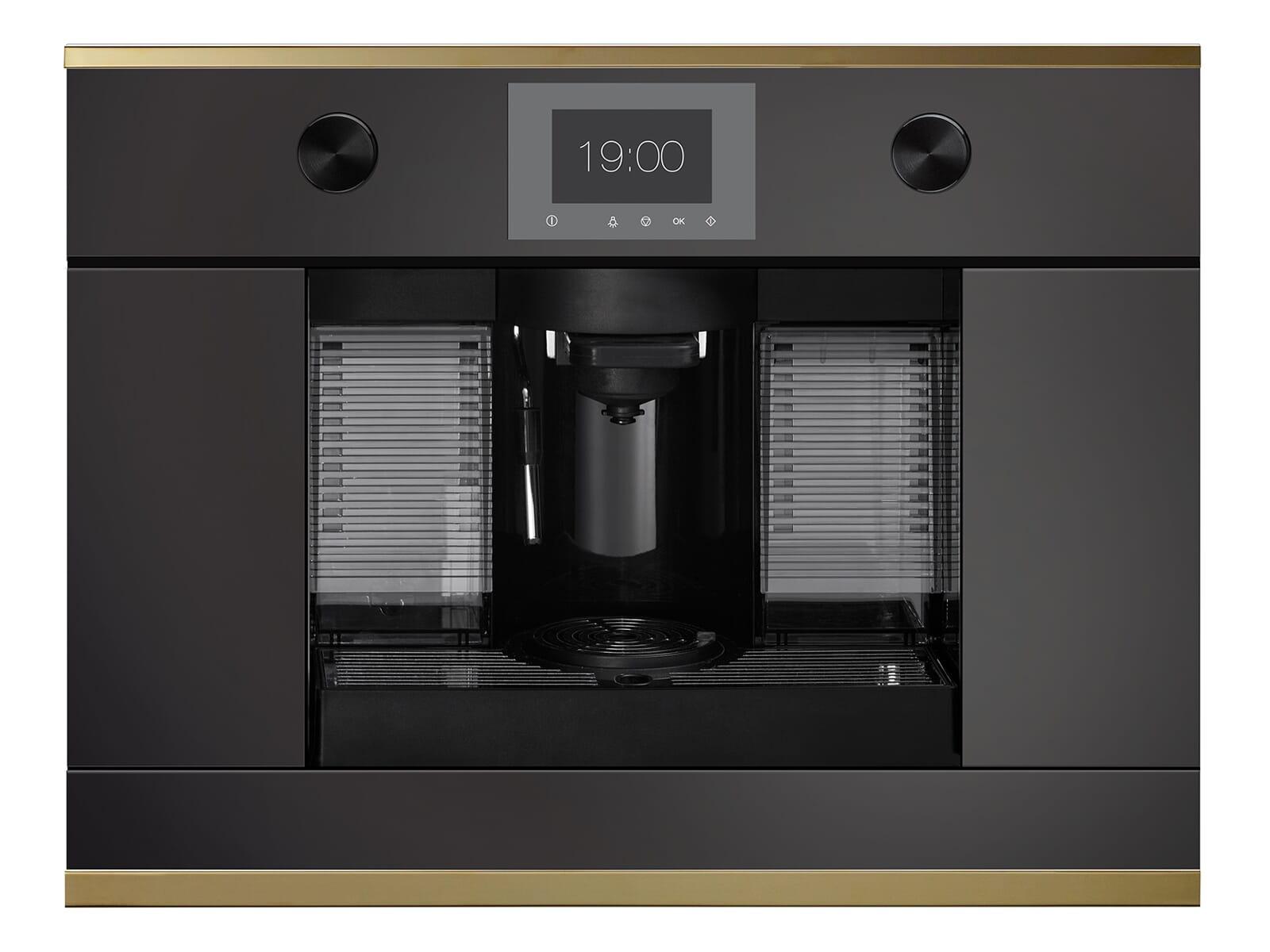 Küppersbusch CKK 6350.0 S4 K-Series.3 Kaffee-Kapselautomat Schwarz/Gold für Nespresso® Kapseln