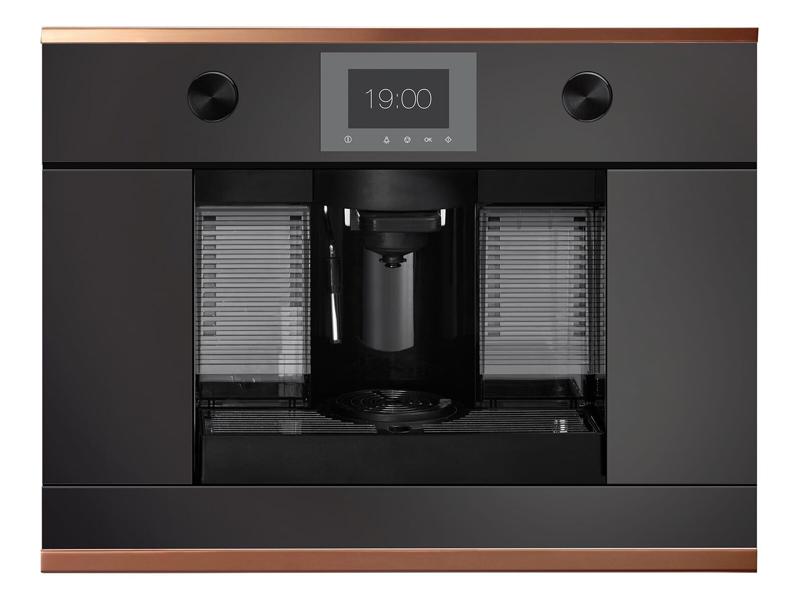 Küppersbusch CKK 6350.0 S7 K-Series.3 Kaffee-Kapselautomat Schwarz/Copper für Nespresso® Kapseln