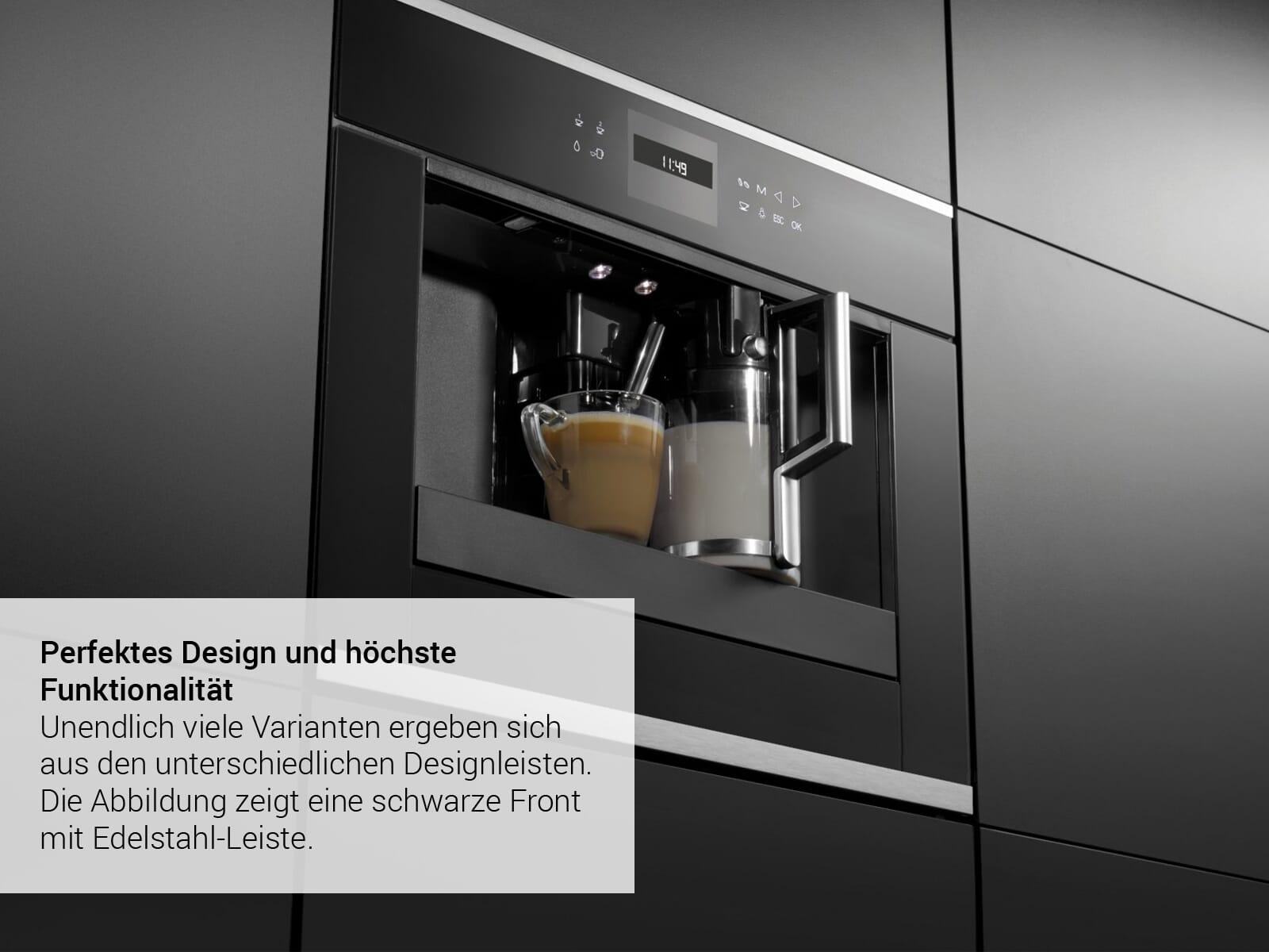 Küppersbusch CKV 6550.0 G2 K-Series. 5 Einbau-Espresso-/Kaffeevollautomat Grau/Black Chrome